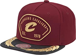 Mitchell & Ness NBA Captains Adjustable Snapback Hat