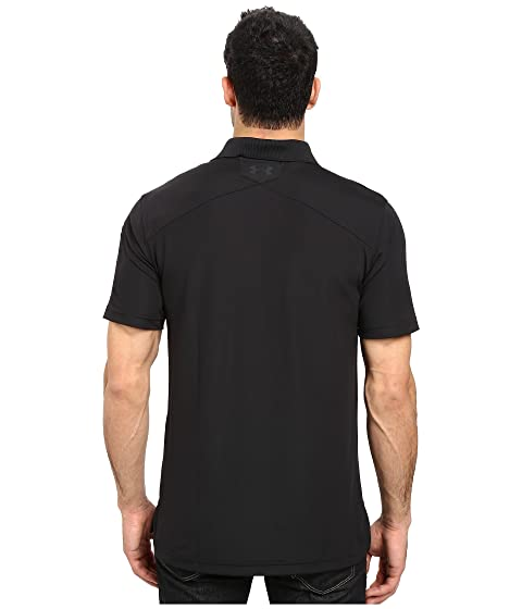 Negro Polo Under UA Armour Performance Tac xS8w67