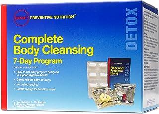 GNC Prodental Nutrition Complete Body Cleansing Program، 7 روز، از کلیه سلامت و سلامت دستگاه گوارش حمایت می کند