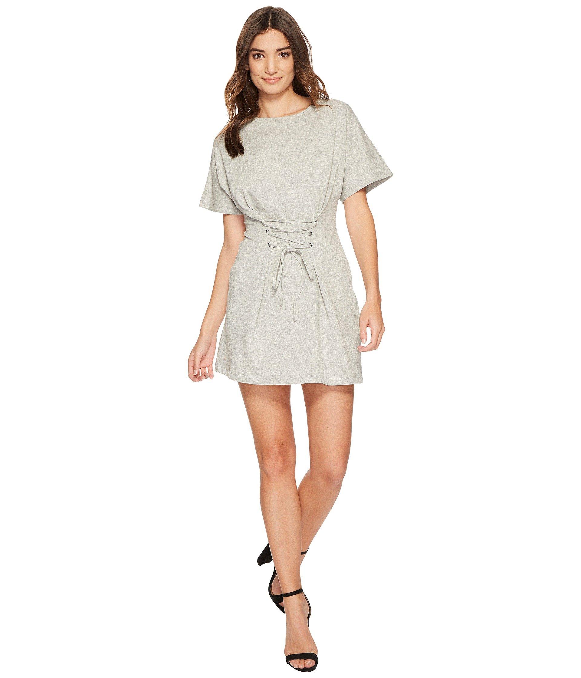 Corset Sweat Mini Dress