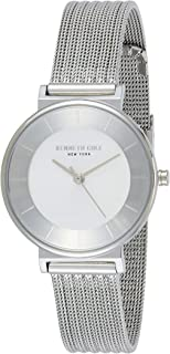 Kenneth Cole Women's Silver Dial STAINLESS STEEL Band Watch