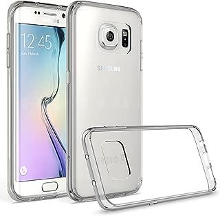 Samsung Galaxy S7 Edge Case, Bastex Slim Fit Shock Absorbing Flexible Clear Hard Rubber Fused Smoke Bumper TPU Case Cover for Samsung Galaxy S7 Edge G935