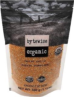 Bytewise Organic Corn Dalia/ Corn Porridge, 500gm