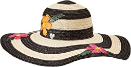 Floral Bliss Floppy Hat