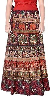 Rajvila Rajasthani Jaipuri Print Skirt for Women Comfortable Skirt for Women (F_W40NT_0002)