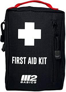M2 BASICS 200 Piece Emergency Survival First Aid Kit | Compact & Rugged for Home,..