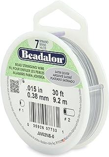 Beadalon Cavetto Acciaio 19 Fili mm 0.38 x m 31