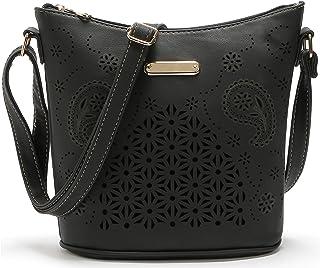 Single Should Bag Flowers Skull Multi-functional Portable Cross-body Bag
