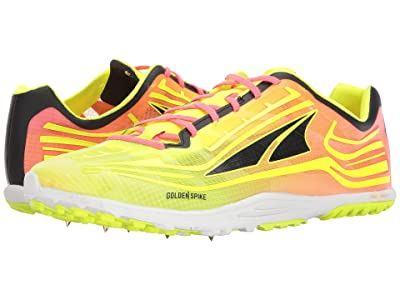 Altra Footwear Golden Spike (Lime/Pink) Athletic Shoes