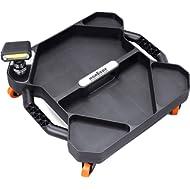 HORUSDY Car Creeper Tool Tray, Garage Tools, Magnetic LED Rotating Work Light, Professional...