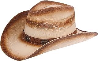 Enimay Western Outback Cowboy Hat Men s Women s Style Straw Felt Canvas 9b06417de470