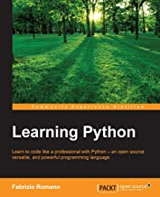 Learning Python: Learn to code like a professional with Python