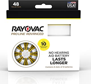 Best rayovac proline advanced hearing aid batteries Reviews