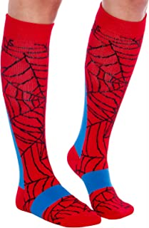 LISH Superhero Compression Socks - Graduated 15-25 mmHg Knee-Hi Socks