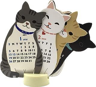Mini Size Cat 2020 Die-Cut Desktop Calendar