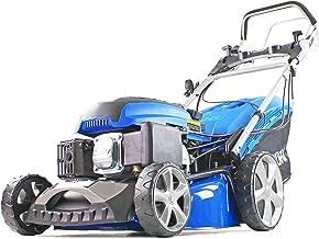 "Hyundai Petrol Self Propelled Lawnmower Electric Push Button Start 18"" 46cm 460mm Cut 139cc 3.5hp Euro 2 Lawn Mower HYM460..."