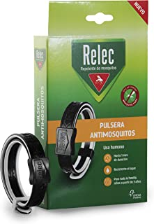 Relec Pulsera, Repelente Mosquitos, Tamaño Único, Pack de