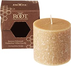 product image for Root Candles Unscented Timberline Pillar Candle , 3 x 3-Inches , Beeswax