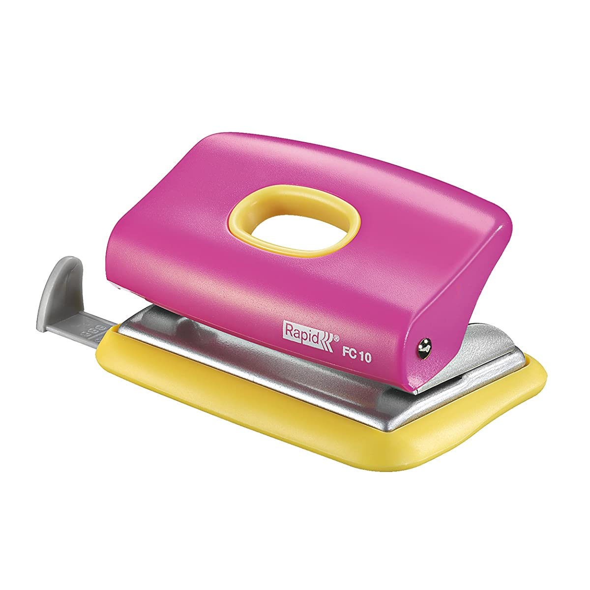 Rapid FC10 Hole Punch - Pink/Yellow