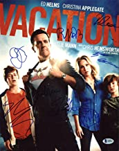 Vacation (Ed Helms, Christina Applegate +6) Signed 11X14 Photo BAS #A09810 - Beckett Authentication