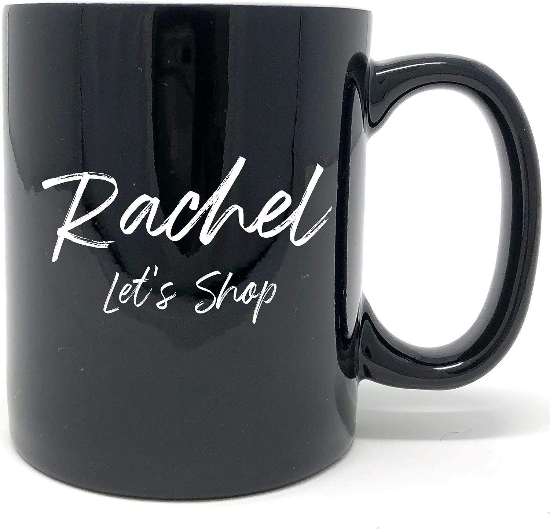 Coffee Cup Tea Cup Mug Personalized Engraved Coffee Mug Black White Text