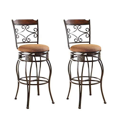 Wrought Iron Bar Stools Amazoncom