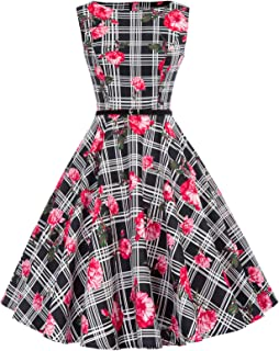 35dd2a0a86b52 Amazon.com: Plaid - Dresses / Clothing: Clothing, Shoes & Jewelry