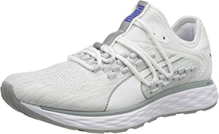 PUMA Women's Speed Fusefit WN's Wht-Quarry Shoes, White-Quarry