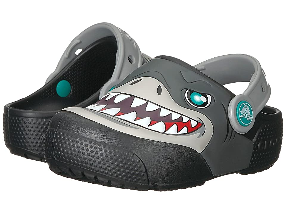 Crocs Kids Fun Lab Lights Clog (Toddler/Little Kid) (Black) Kid