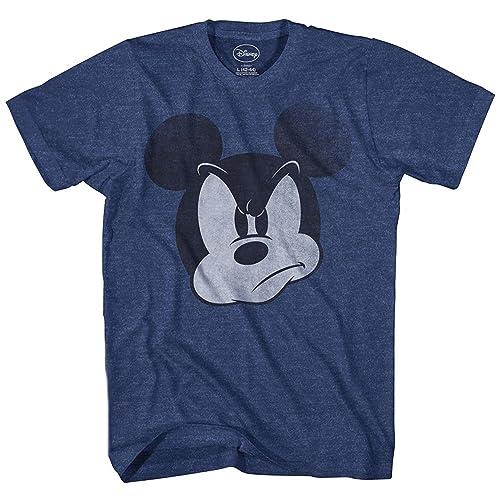 e22fe72b Disney Mad Mickey Mouse Adult Mens T-Shirt