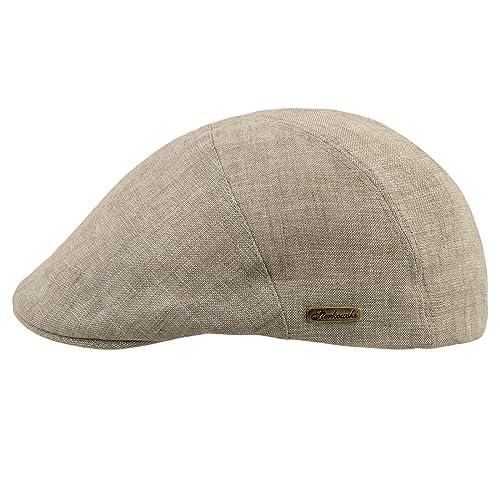 22ea48d24d3f8 Sterkowski Light Breathable Linen Summer Vintage Flat Cap