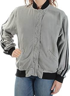 Hudson Women's Medium Nova Varsity Collar Jacket