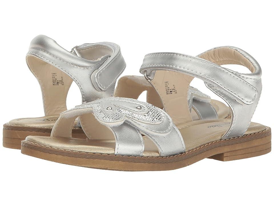 Jumping Jacks Kids Candy (Toddler/Little Kid) (Silver Metallic) Girls Shoes