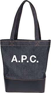 Luxury Fashion   A.P.C. Womens CODDPF61389IAK Blue Tote   Fall Winter 19