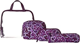 Vera Bradley Luggage - Iconic Four-Piece Cosmetic Set