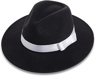 BABEYOND 1920s Gatsby Panama Fedora Hat Cap for Men Gatsby Hat for Men 1920s Mens Gatsby Costume Accessories