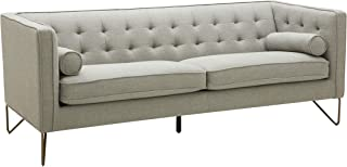 Rivet Brooke Contemporary Modern Tufted Sofa Couch, 82