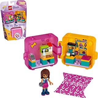 LEGO Friends Andrea's Shopping Play Cube 41405 Building Kit, Includes a Mini-Doll and Toy Pet, Promotes Creative Play, New...