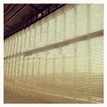 LIXIONG Sunblock schaduwdoek, bloklicht, stofdicht, anti-UV-crème kleur metalen oogje voor terras, dakrand, balkon zonneka...
