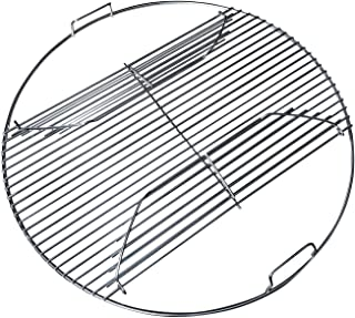 "22 Inch 201 Stainless Steel Hinged Grilling / Cooking Replacement 22"" grill grate - For use in 22"