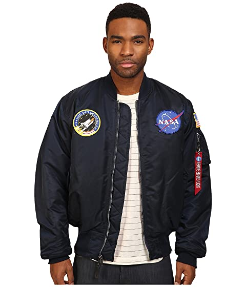 Alpha Industries NASA MA-1 Flight Jacket at Zappos.com