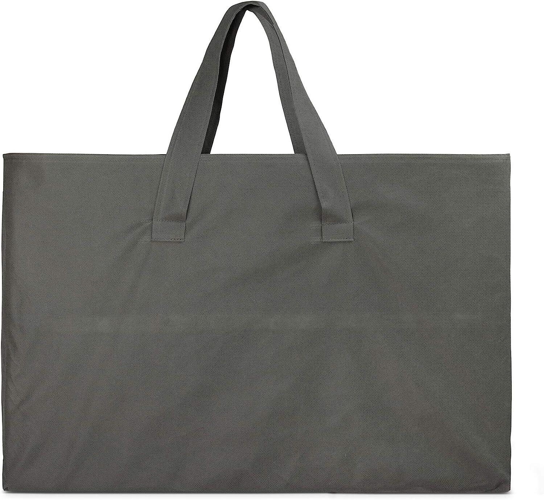 bolsa de transporte incluida grosor de 6 cm plegable en tres plumas gris desenfundable 60 x 120 cm Colchoneta para cuna de viaje