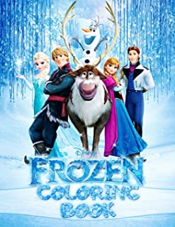 FROZEN Coloring Book: Great 53 Illustrations for Kids
