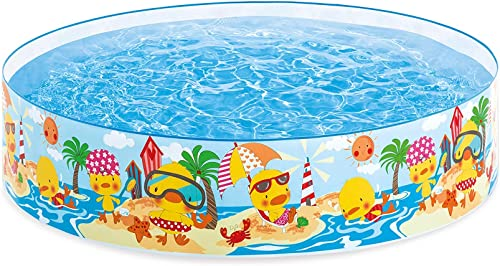 """discount Intex 58477EP Duckling Snapset Pool 4' x high quality lowest 10"""" online sale"""