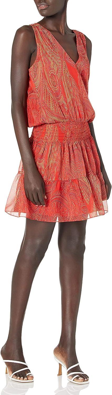 Ramy Brook Women's Printed Wolfe Sleeveless Mini Dress