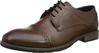 Hush Puppies Craig Luganda, Zapatos de Cordones Derby Hombre