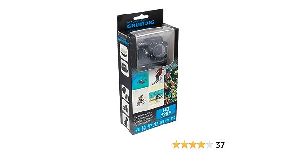 Grundig 04883 Aktion-Kamera HD 720P Schwarz