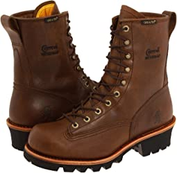 "Chippewa 8"" Bay Apache Waterproof Lace-to-Toe Logger"