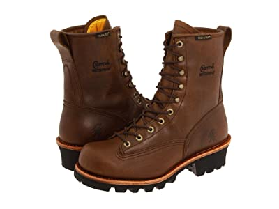 Chippewa 8 Bay Apache Waterproof Lace-to-Toe Logger (Brown) Men