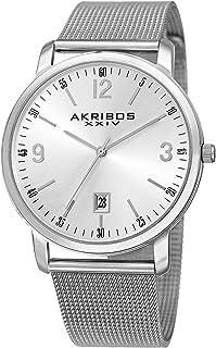 Akribos XXIV Dress Watch Analog Display Quartz Movement for Men